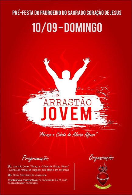 Paróquia de Almino Afonso promove arrastão jovem dia 09/09