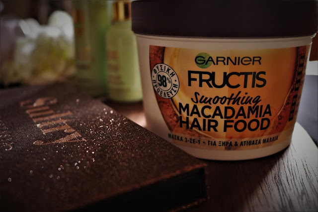 garnier macadamia hair food