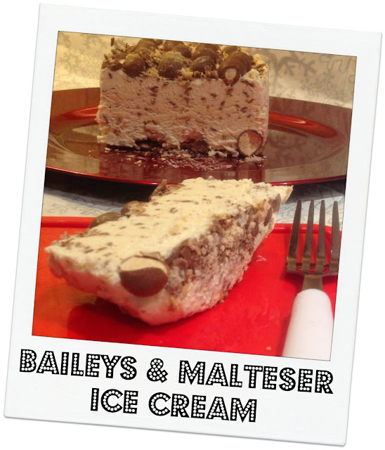 Baileys and Malteser Ice Cream