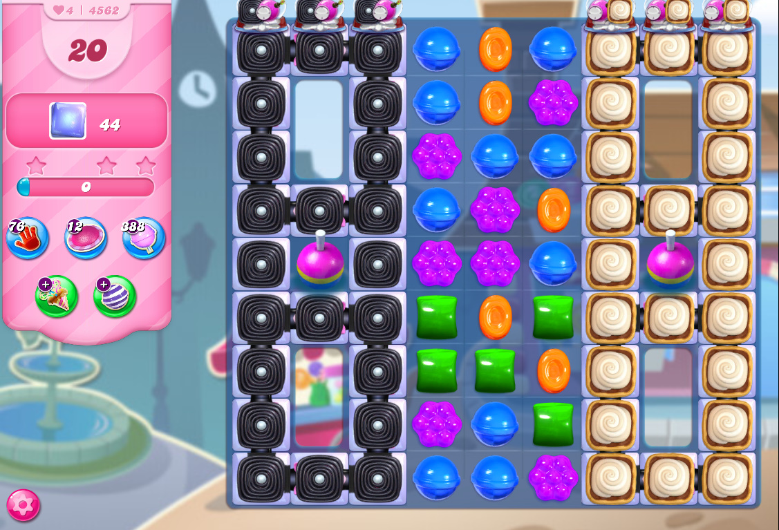 Candy Crush Saga level 4562