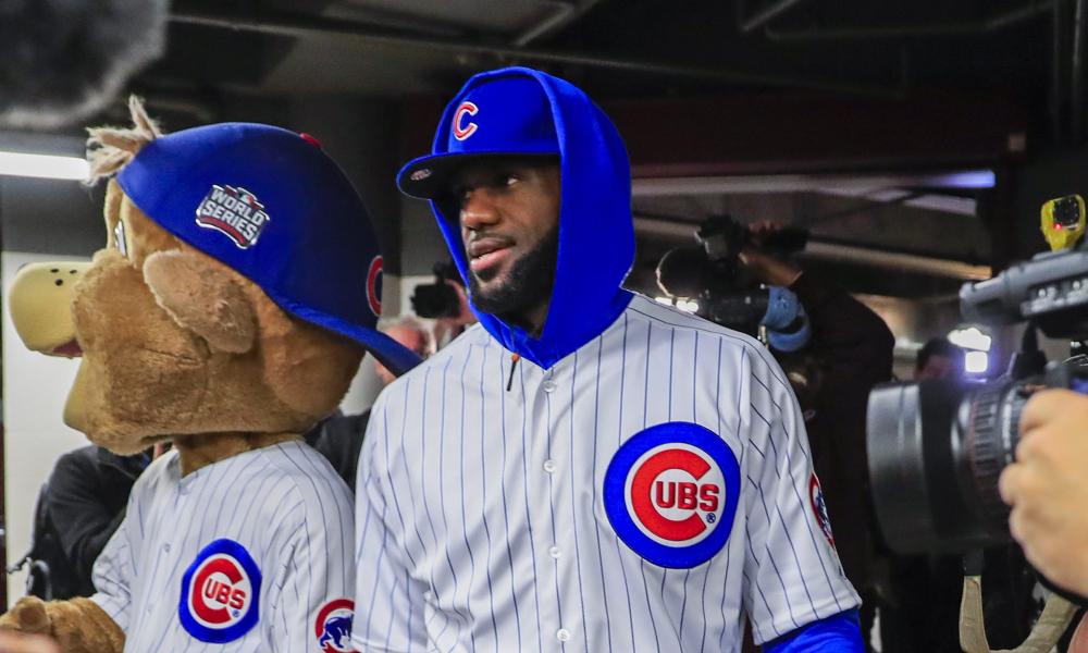 huge discount 9c813 3af81 Lebron James in a Chicago Cubs Uniform | EMPEHI.COM A Blog ...