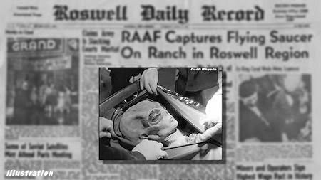 Authentic Aliens Images from Roswell UFO Crash Finally Found?