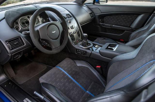2017 Aston Martin Vantage GTS Interior