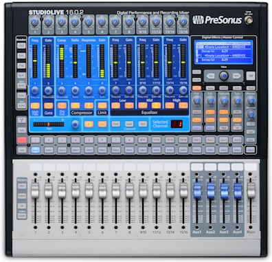 everything audio network home recording studio review presonus studiolive digital. Black Bedroom Furniture Sets. Home Design Ideas