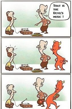 Devil took back his music