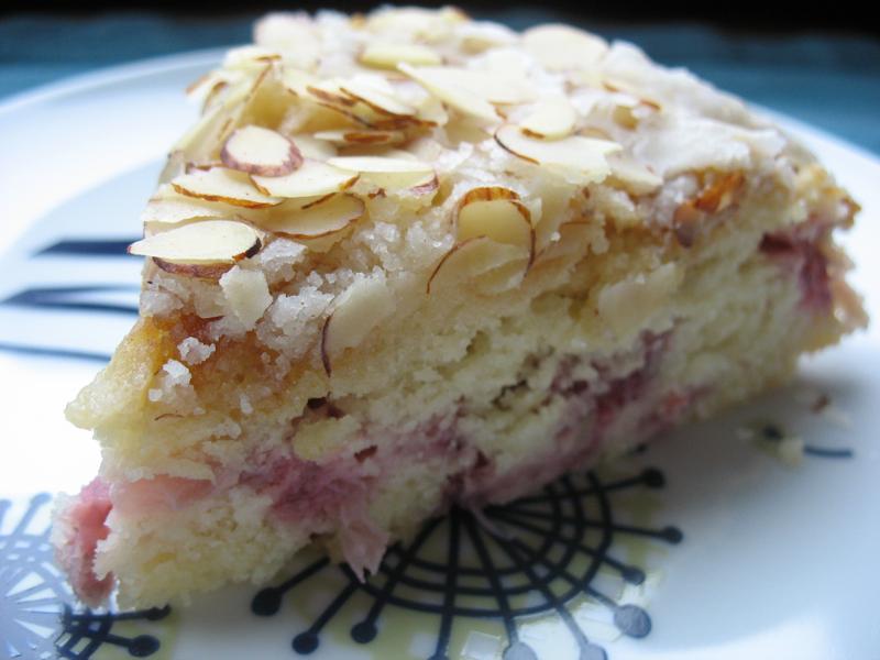 Rhubarb Crunch Cake Recipe