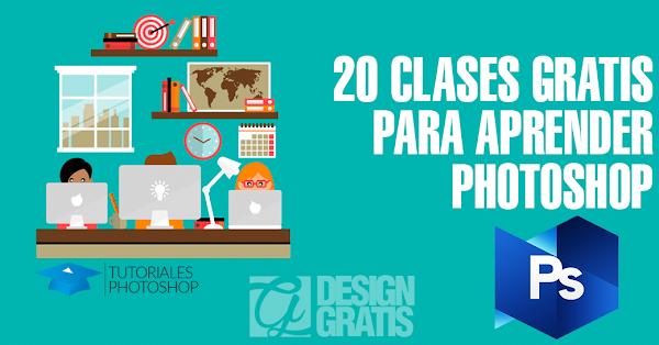 20 clases gratis para aprender tecnicas en photoshop