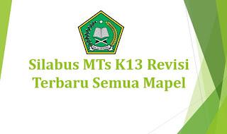 Silabus MTs K13 Revisi Terbaru Semua Mapel