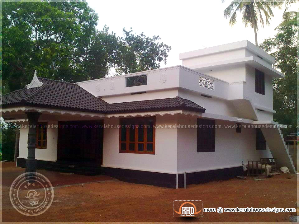 1800 square feet completed home in kerala kerala home for 1800 square foot house