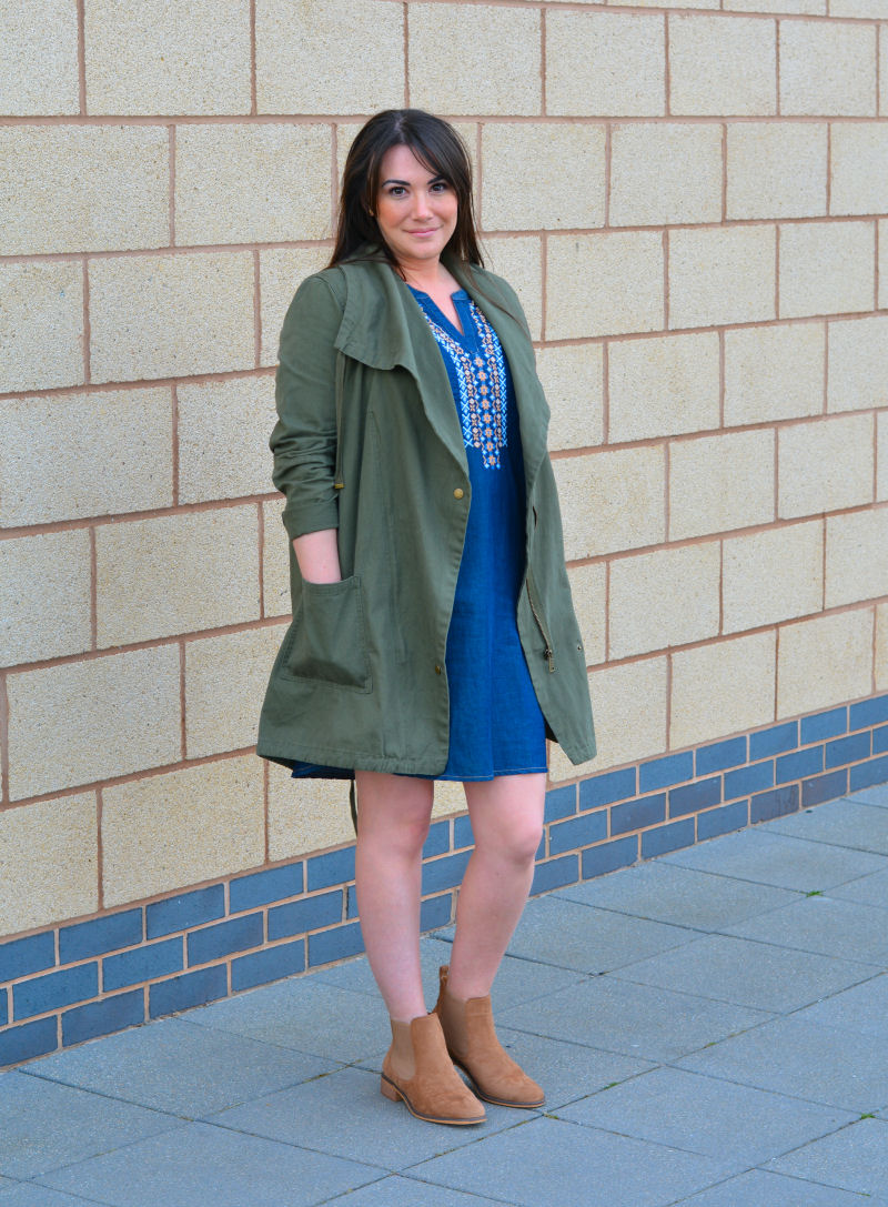 George at Asda #styleYOUniform blogger outfit challenge