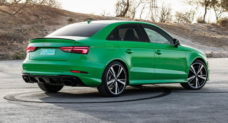 Audi Details More Powerful 2017 RS3  In New Gallery [97 Pics]