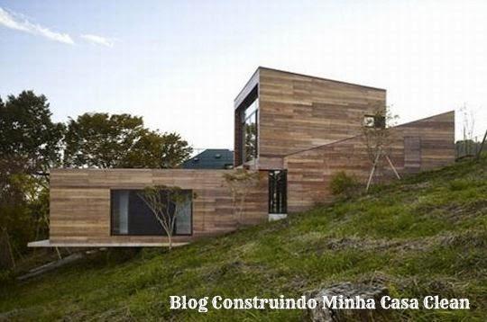Construindo minha casa clean fachadas de casas em - Fachadas de chalets ...