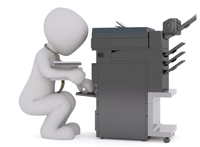 Business Copiers In An Office
