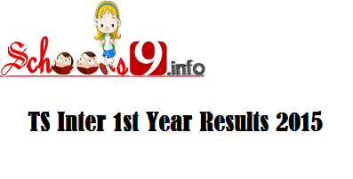 Schools9 TS Inter 1st Year Results 2015