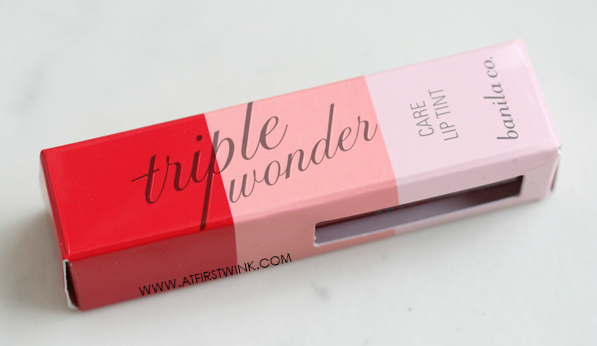 banila co. triple wonder care lip tint - 02 parisian packaging