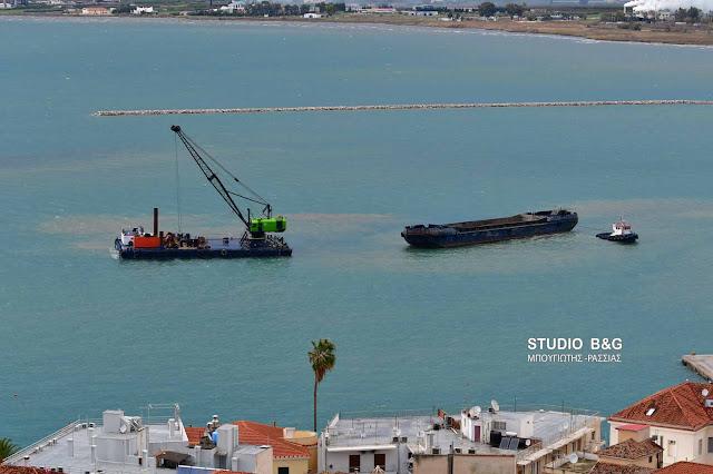Εντός του Ιουλίου θα ολοκληρωθούν τα έργα εκβάθυνσης στο λιμάνι του Ναυπλίου