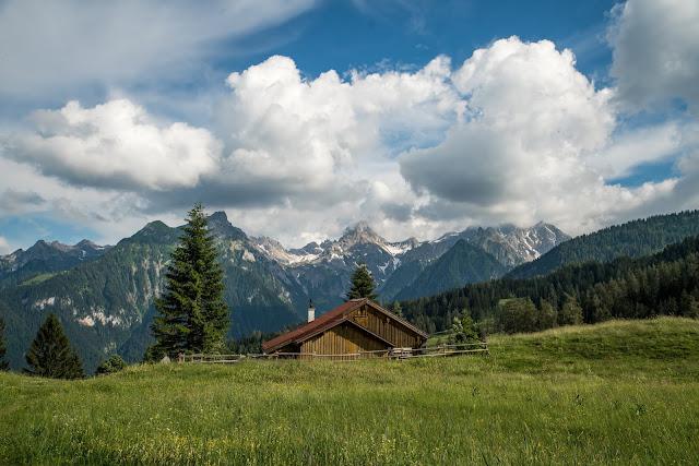 Wanderung auf die Mondspitze  Brandnertal Bürserberg  Wanderparkplatz Tschengla  Alpe Rona  Alpe Furkla 02