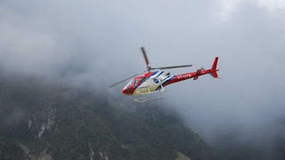 First Heli Service in Uttarakhand Launched