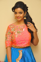 Nithya Shetty in Orange Choli at Kalamandir Foundation 7th anniversary Celebrations ~  Actress Galleries 023.JPG