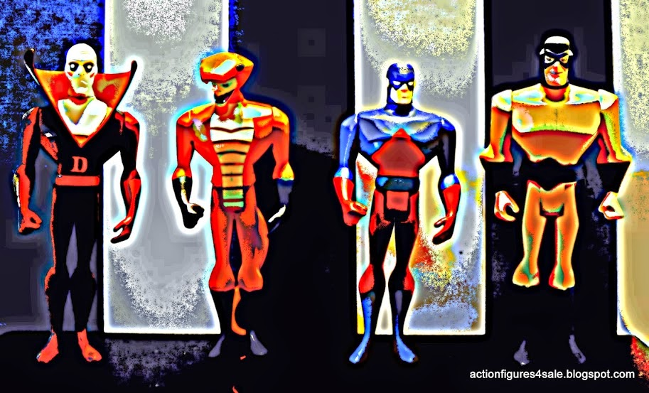 Super Heroes Action Figures!
