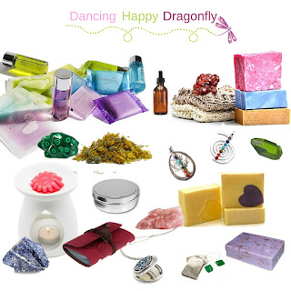 Some of the wonderful items you can find in the Dancing Happy Dragonfly Subscription Box