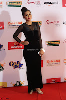 Vennela in Transparent Black Skin Tight Backless Stunning Dress at Mirchi Music Awards South 2017 ~  Exclusive Celebrities Galleries 042.JPG