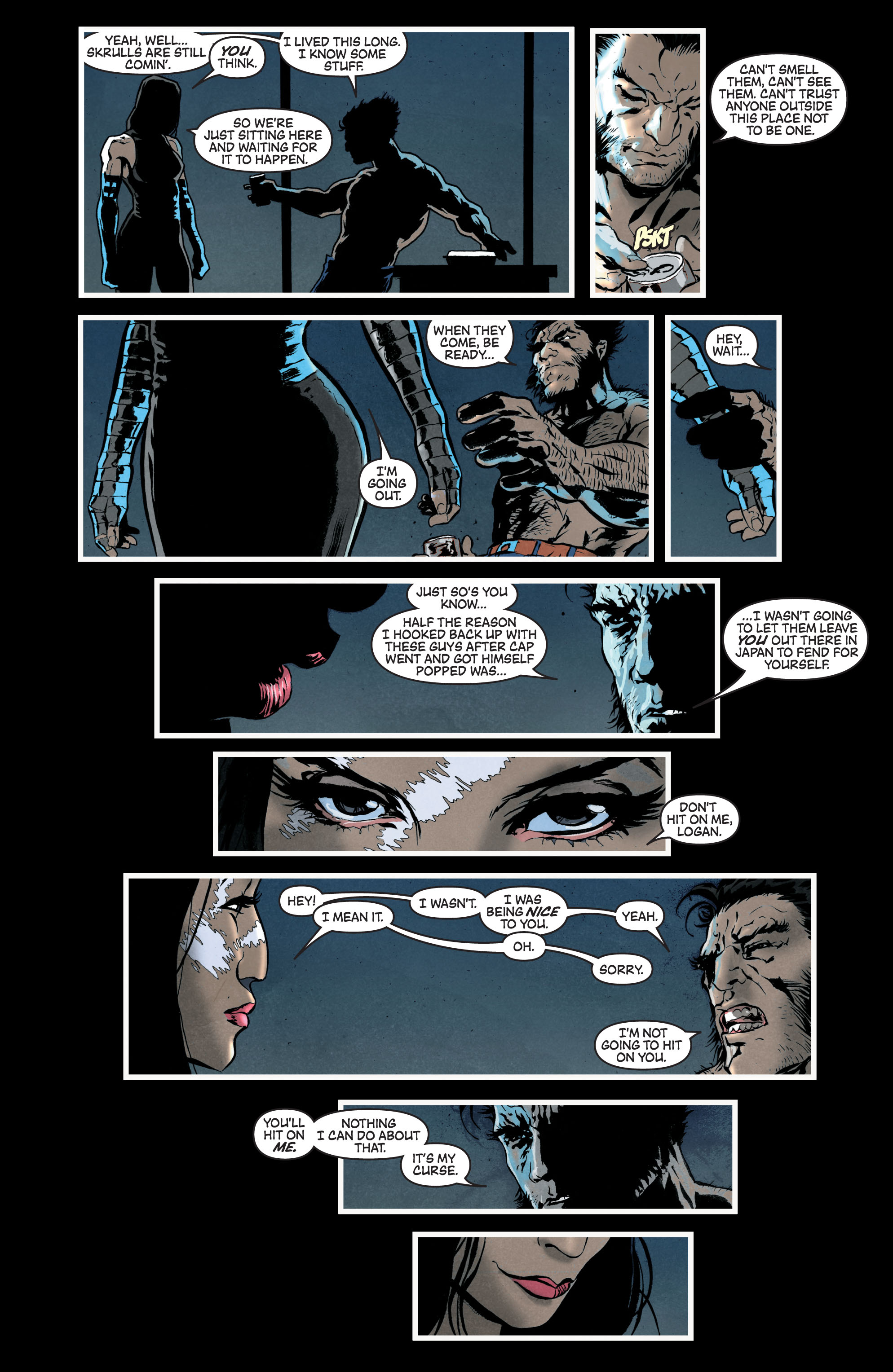 Read online Secret Invasion: The Infiltration comic -  Issue #7 - 5
