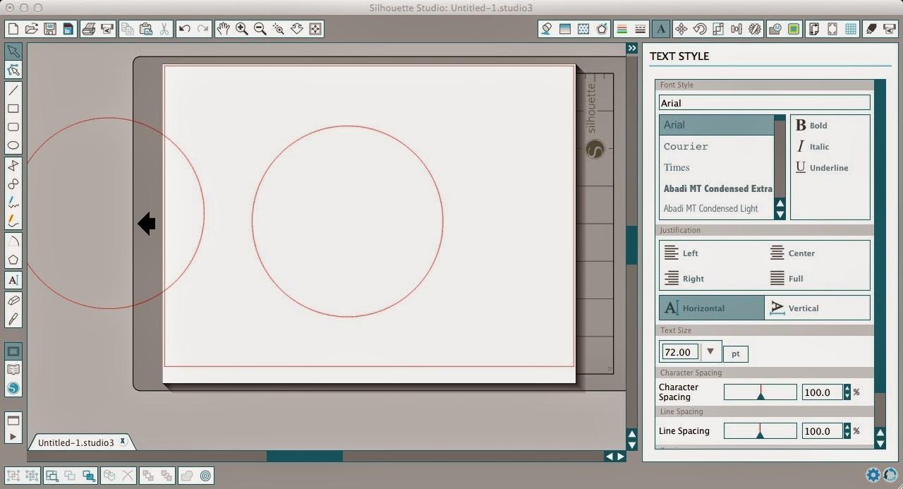 Circle monogram, Silhouette, Silhouette tutorial, Silhouette Studio, duplicate