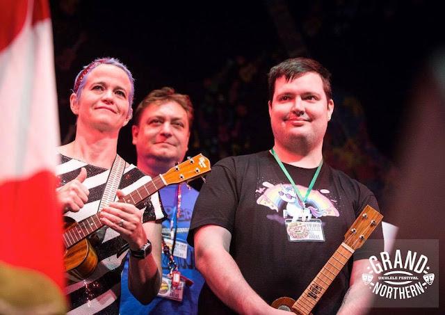 Team GNUF ukulele festival