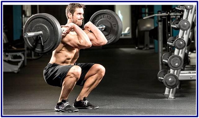 Rutina de entrenamiento con pesas efectiva para hombres