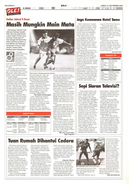 UNDIAN JADWAL 8 BESAR LIGA INDONESIA