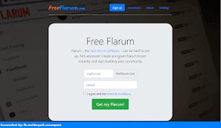 Free Flarum homepage