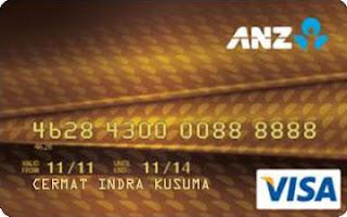 kartu kredit anz visa gold