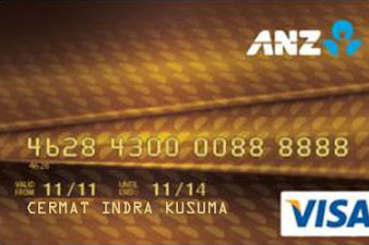 Review Kartu Kredit ANZ/DBS Visa Gold untuk karyawan bergaji 3 juta