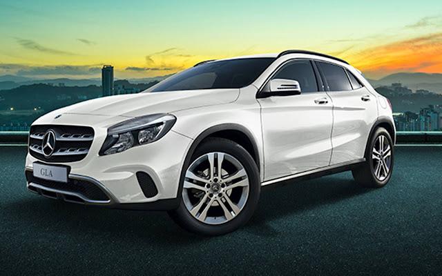 Mercedes-Benz Classe GLA 2018 - desconto em setembro