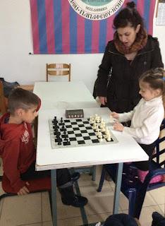 μάθημα σκακιού με δασκάλα στη Θεσσαλονίκη