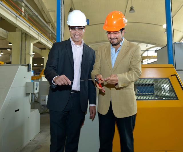 IdealAlambrec inauguró su línea de producción de alambre de soldadura en Ecuador