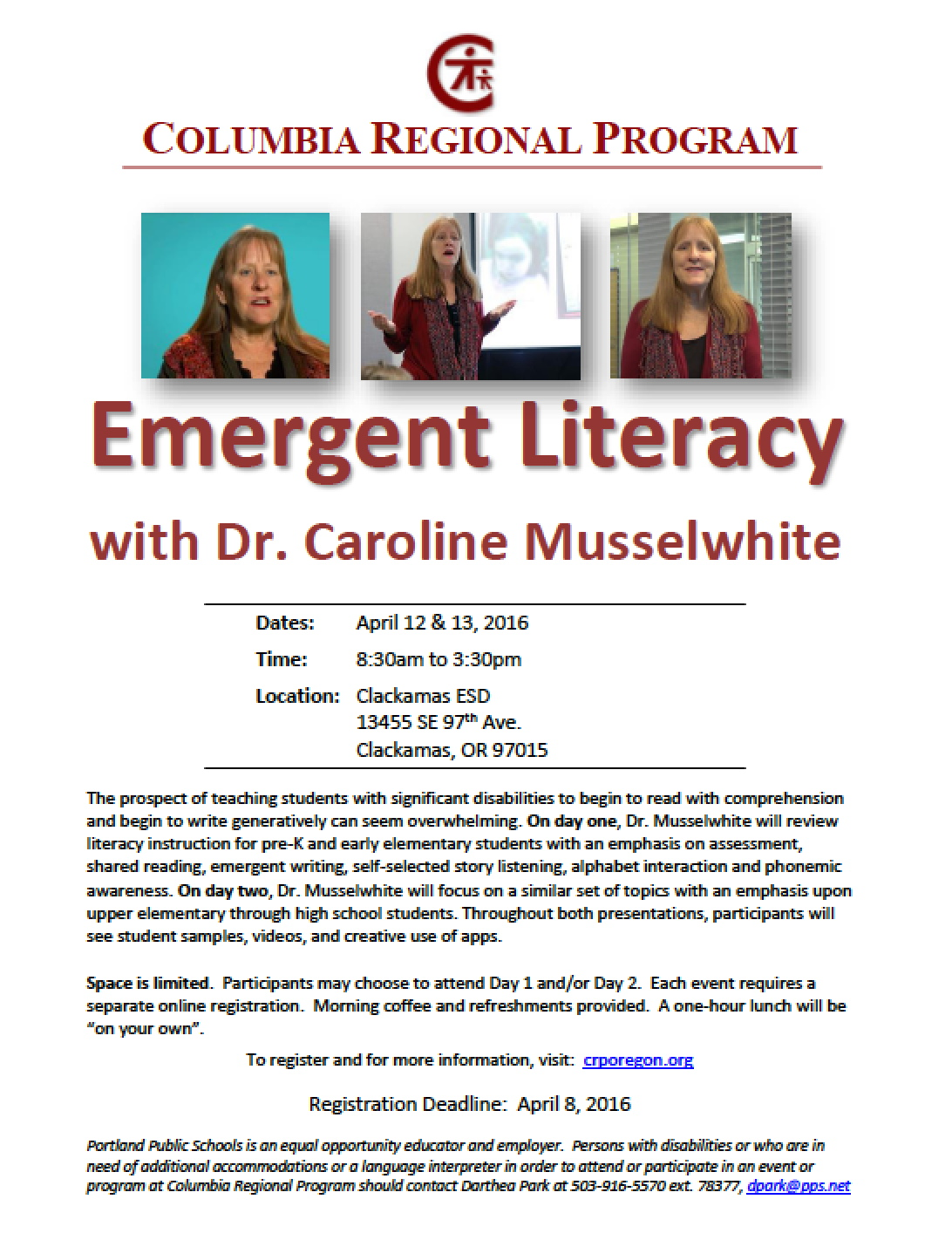 emergent literacy A critical component of early literacy is having something meaningful and interesting to talk, read or write about all children build vocabulary through experiences - be they real life experiences, stories and pictures in books, or videos/television.