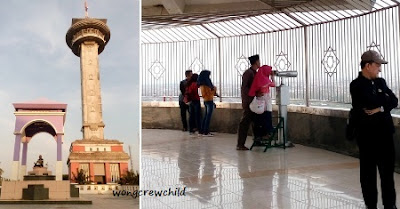 tower masjid agung jawa tengah  semarang