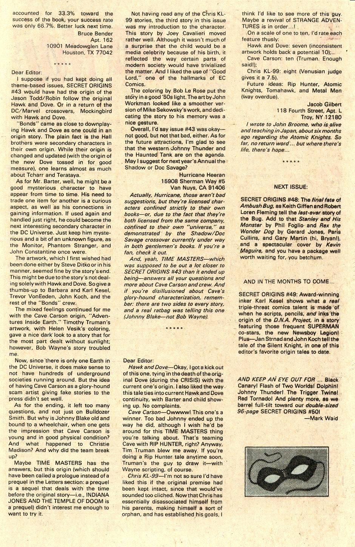 Secret Origins (1986) issue 47 - Page 40