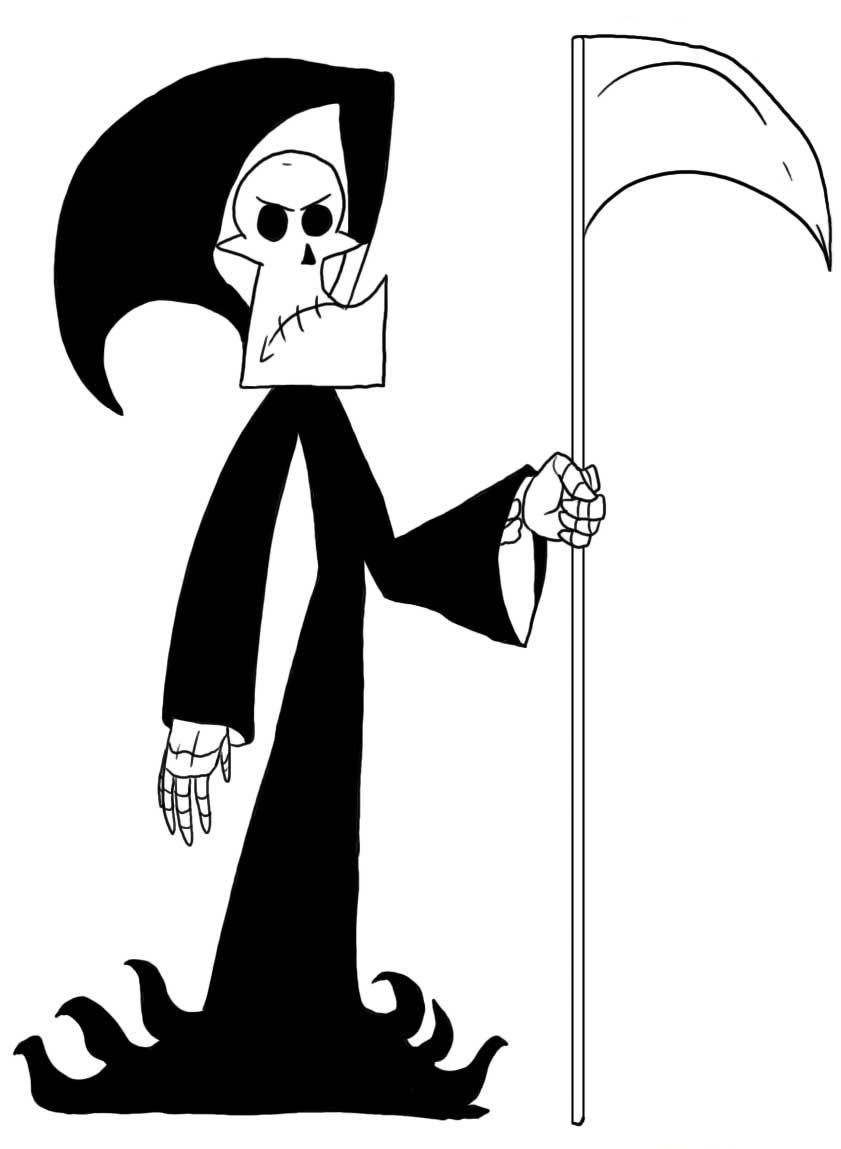 billy and mandy coloring pages - photo#26