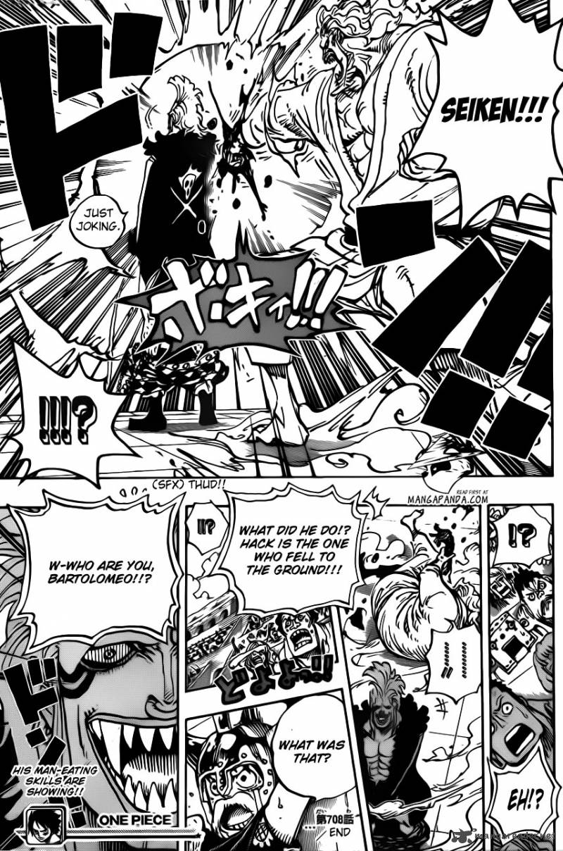 One Piece Ch 708: Colosseum Of The Thieves
