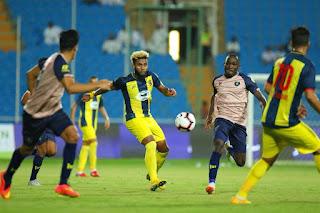 موعد مباراة التعاون والحزم اليوم الخميس 10-01-2019 في مباريات الدوري السعودي