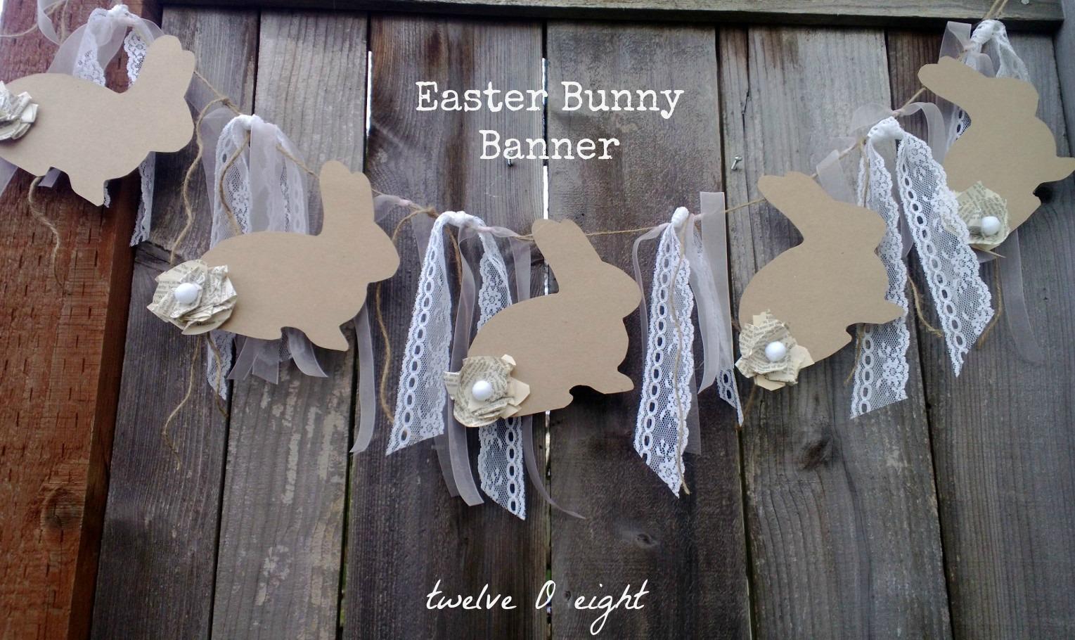 Banner: Easter Bunny Banner