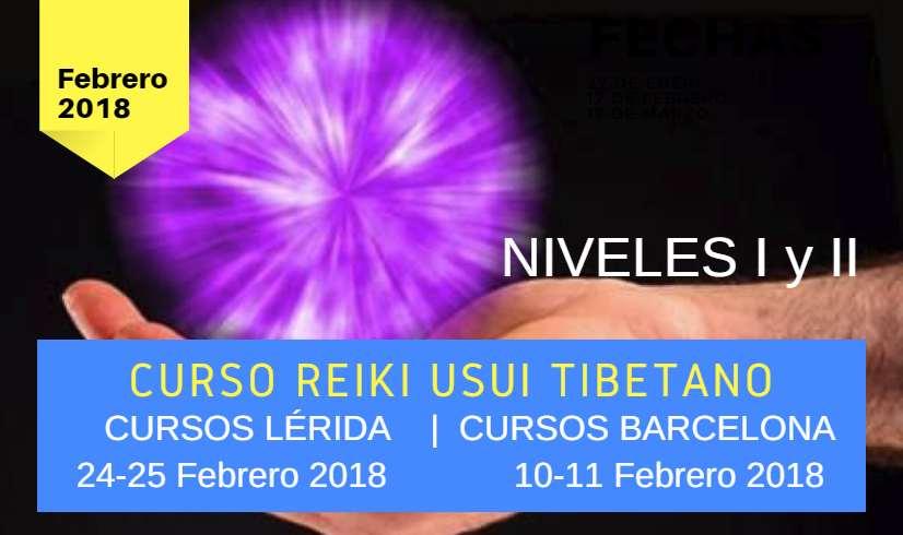 Cursos de Reiki en Lérida y Barcelona