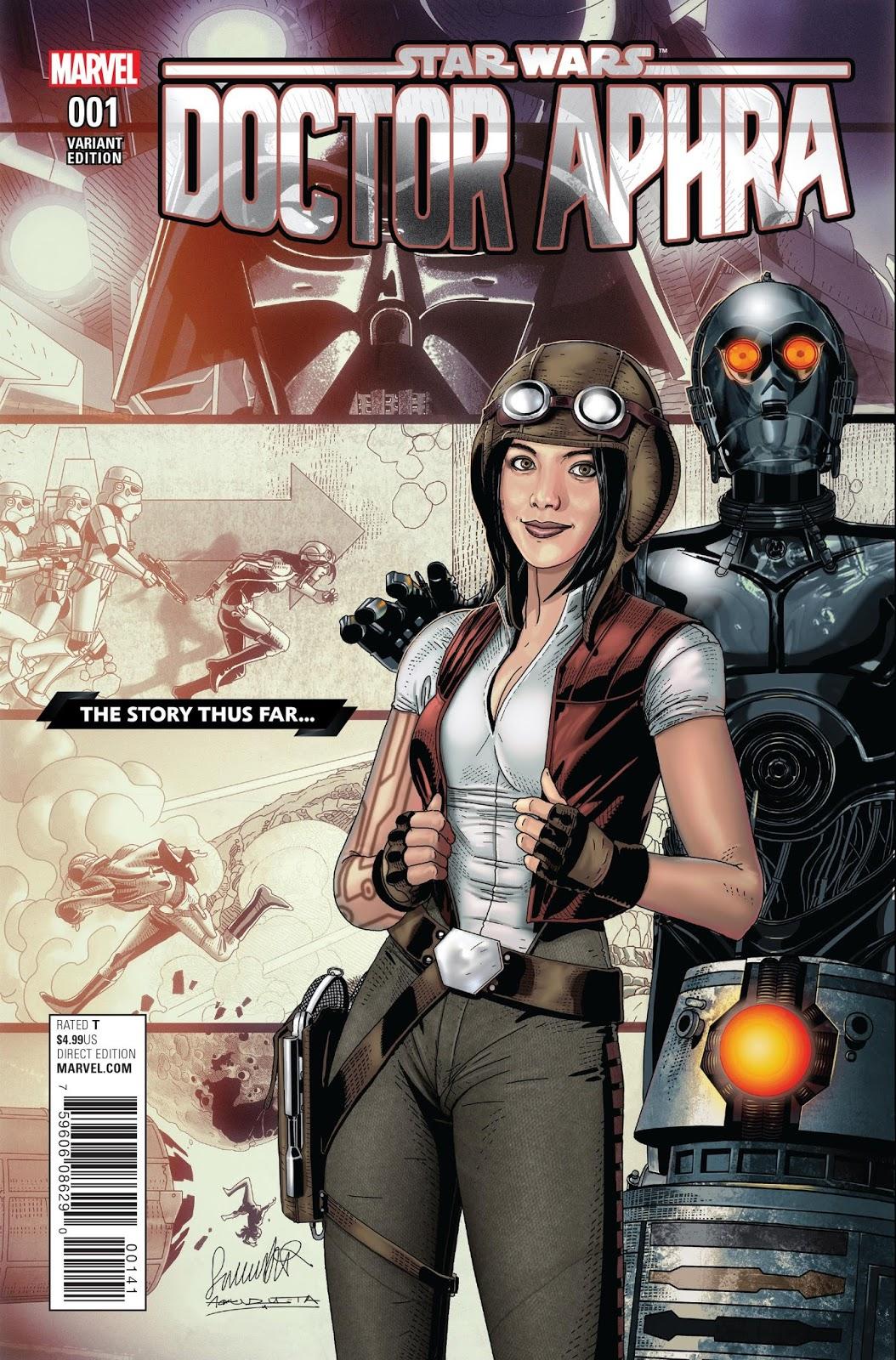Comics: Marvel Studios Star Wars: Doctor Aphra #1 (2016) – Reviewed