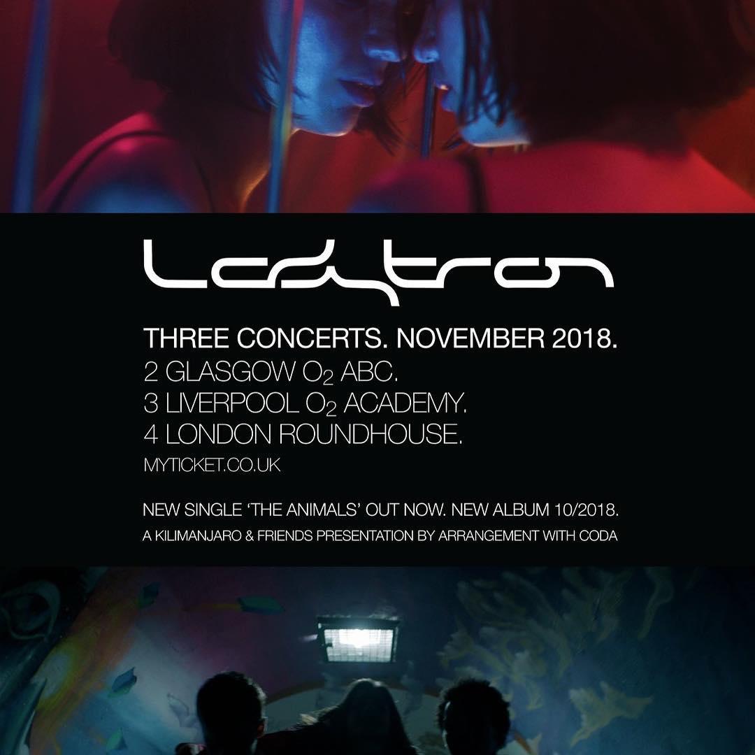 Ladytron Tour