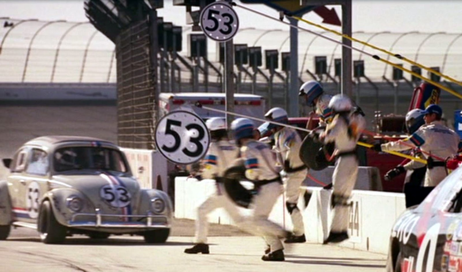 Just A Car Guy Herbie Fully Loaded Another Fun Movie Wiring Diagrams Of 1964 Plymouth 6 And V8 Savoy Belvedere Fury Part 2 Which Never Let You Down Reminds How Many Great Race Cars Have Been In Movies