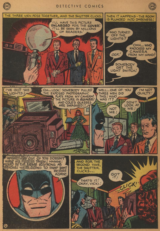 Read online Detective Comics (1937) comic -  Issue #152 - 8