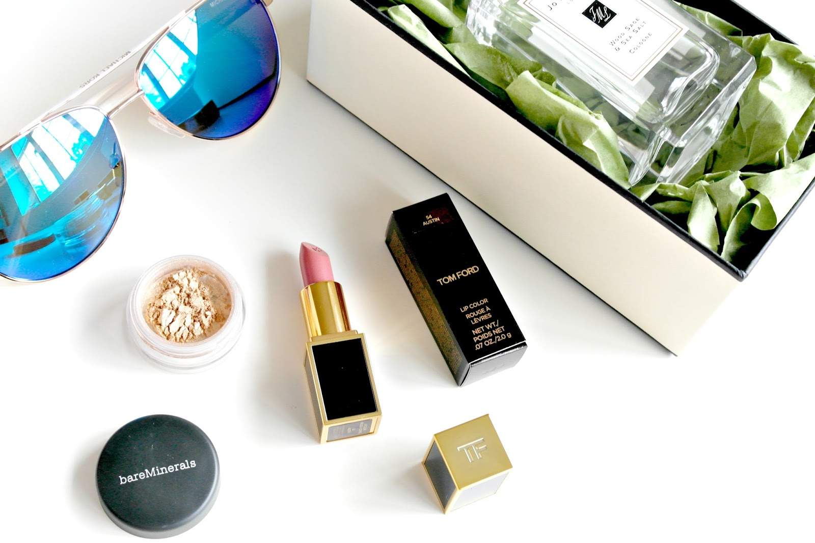 heathrow duty free, jo malone, michael kors, tom ford, bare minerals, beauty blog